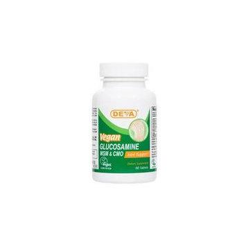 Deva Vegan Vitamins Vegan Glucosamine MSM-CMO, 90 Tab (Pack of 3)