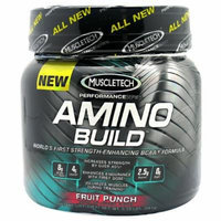 Amino Build By MuscleTech, Fruit Punch 30 Servings