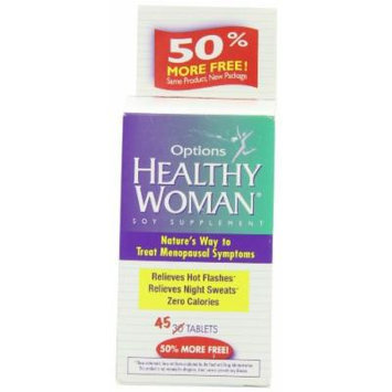 Healthy Woman Soy Menopause Supplement 45 Tablets Pack of 6