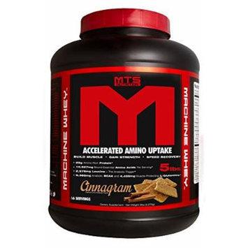 MTS Nutrition Machine Whey Protein 5lb - Cinnagram