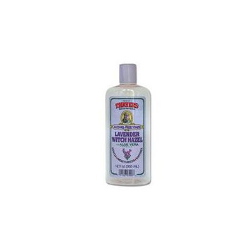 Thayers Witch Hazel Toner, LAVENDER ALCOHOL FREE, 12 OZ (Pack of 2)