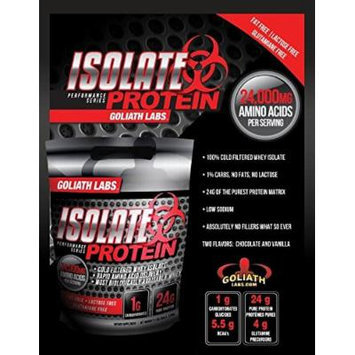 Goliath Labs Isolate Protein 10 Lbs (Unflavored)