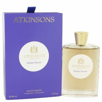 Fashion Decree for Women by Atkinsons EDT Spray 3.3 oz