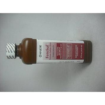 Ferosul Ferrous Sulfate Elixir 220mg 16oz (Pack of 3)