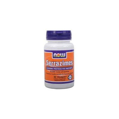 Now Foods Serrazimes, 90 Vcaps (Pack of 3)