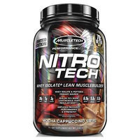 Nitro-Tech, Performance Series, By MuscleTech, Mocha Cappuccino Swirl, 2lb,