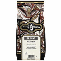 Steep & Brew Hazelnut Ground Coffee, 12 oz