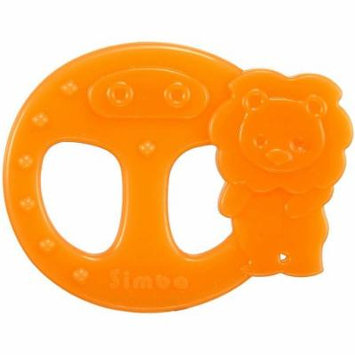 Simba Ring Silicone Teether, Orange