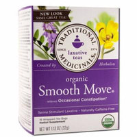 Traditional Medicinals Smooth Move Tea, Organic, 16 Count (Pack of 2)