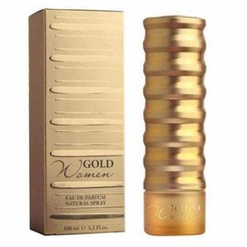 Gold Perfume by New Brand, 3.3 oz EDP Spray for Women