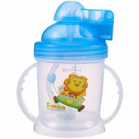 Simba 6 oz Pop Lid Training Cup, Blue