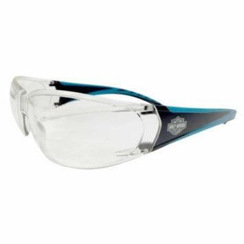 Harley-Davidson Mens Sunglasses, Bar & Shield Black w/Clear Lens HDVZ 101 CLR-22