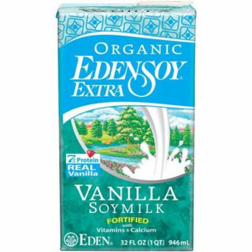 Eden Vanilla Edensoy Extra, Organic, 32 Ounce (Pack of 6)