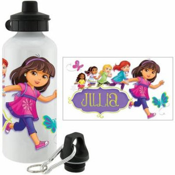 Personalized Dora and Friends Hola Amigas Water Bottle