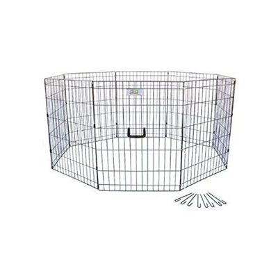 Go Pet Club 36-Inch High Wire Play Pen 8-Panels