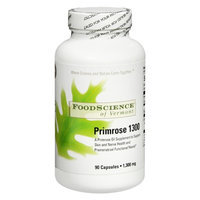 FoodScience of Vermont Primrose 1300 mg Dietary Supplement Capsules