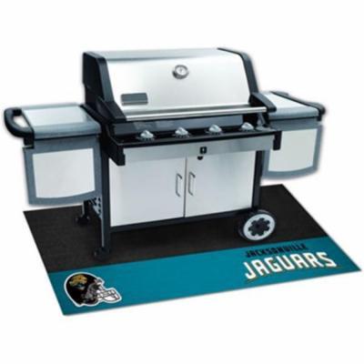 Fanmats 12188 NFL - 26 inch x42 inch - NFL - Jacksonville Jaguars Grill Mat