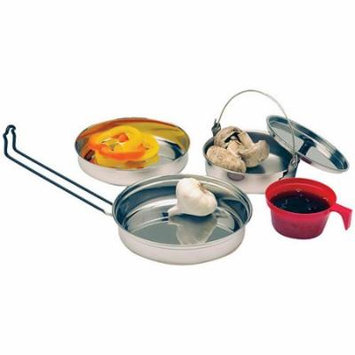Texsport Stainless Steel Mess Kit