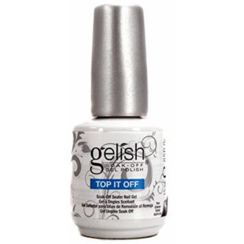NEW Gelish 01246 Top It Off Coat Gel LED Soak Off Gel 15mL .50z Nail Polish