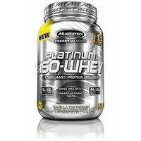 Platinum 100% Iso-Whey By MuscleTech, Vanilla Ice Cream, 1.7lb