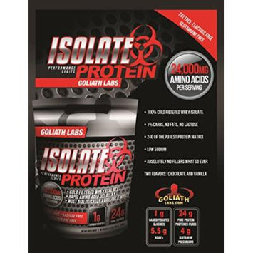 Goliath Labs Isolate Protein 5 Lbs (Unflavored)
