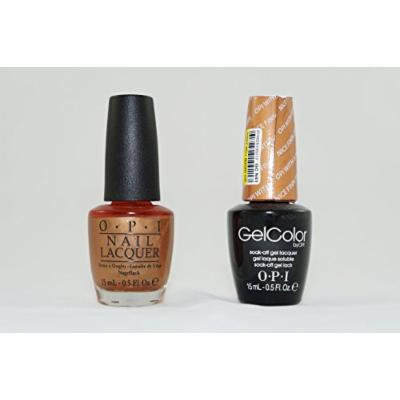 OPI Nail Lacquer and Gelcolor Opi with Nice Finnish N41. Each Bottle Contains .5 Oz.