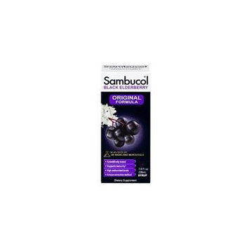 Sambucol Sambucol Black Elderberry Immune System Support, Syrup 7.8 Oz (Pack of 4)