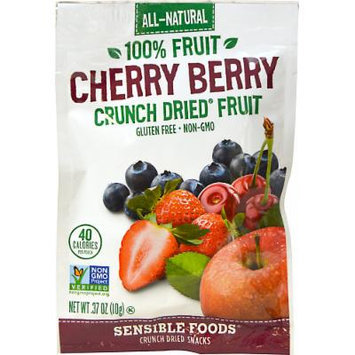 Sensible Foods Cherry Berry Crunch Dried Fruit Snack-1.3 oz Bag