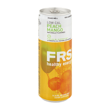 FRS Low Cal Peach Mango Healthy Energy Drink