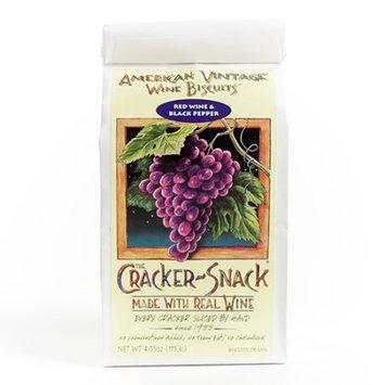 American Vintage Wine Biscuits American Vintage Red Wine & Black Pepper Biscuit