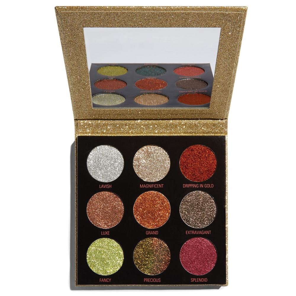 Makeup Revolution Pressed Glitter Palette Midas Touch