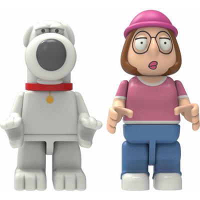 K'NEX Â Family Guy K'NEX Family Guy Buildable Figures: Brian & Meg Griffin