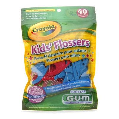 G-U-M Crayola Kids Flossers