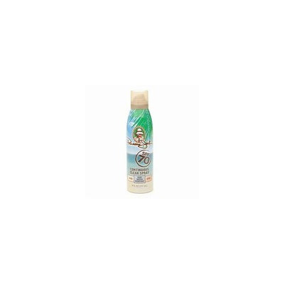 Panama Jack Continous Clear Spray Sunscreen, SPF 70 6 fl oz (177 ml)