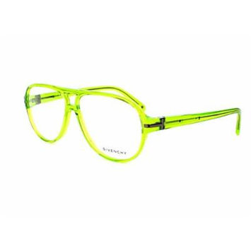 Optical frame Givenchy Acetate Transparent Green - Gun (VGV798 0729)