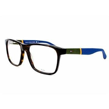 Optical frame Tommy Hilfiger Acetate Havana - Green (TH 1282 K6I)