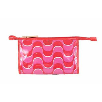 Kate Spade Medium Heddy Travel Cosmetic Case, Maraschino Painterly Wave