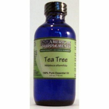 Tea Tree Essential Oil American Supplements 4 oz Oil