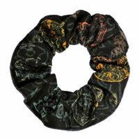 Harley-Davidson Women's Hair Scrunchie, Desert Skull Design, Black HS11230