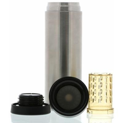My Life My Shop Refresh Flavor Infusing Flask - Silver-1 pack Box