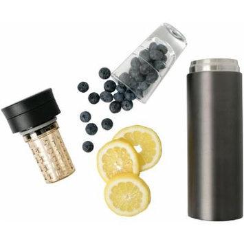 My Life My Shop Refresh Flavor Infusing Flask - Dark Grey-1 pack Box