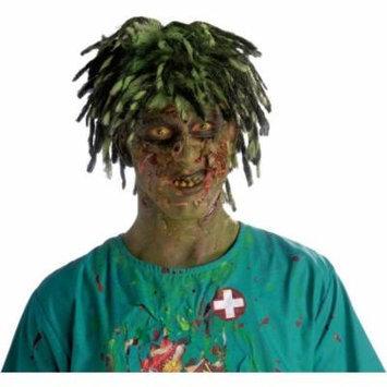 Biohazard Zombie Contaminated Adult Male Costume Wig