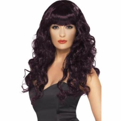Siren Wig Adult Costume Accessory Deep Purple