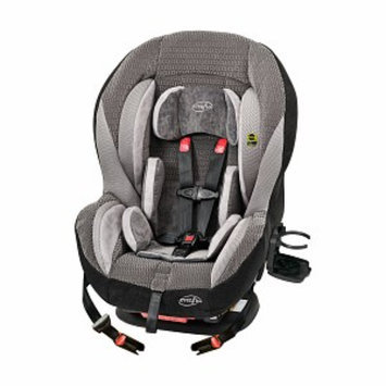 Evenflo Momentum 65 LX Convertible Car Seat 38511092, Brown and Gray, 1 ea