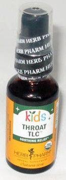 Kids Throat TLC Herb Pharm 1 oz Liquid