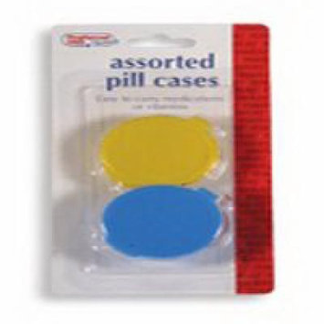 Assorted Pill Cases: Easy To Carry Medications - 2 Containers Ea