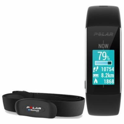 Polar 90057423K1 A360 Black Large With H7 Heart Rate Sensor