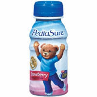 Pediasure Nutrition Liquid Drink (Institution Use), Strawberry Flavor, Model: 53589 - 8 Oz/Bottle, 24 Ea
