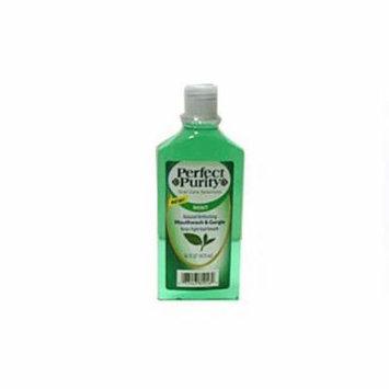 Perfect Purity Cool Mint Antiseptic Mouthwash, Gargle - 16 Oz