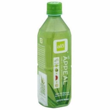 ALO Aloe Vera Pulp & Juice, Appeal, 16.9 Fluid Ounce (Pack of 6)